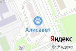 Схема проезда до компании Алиса в Москве