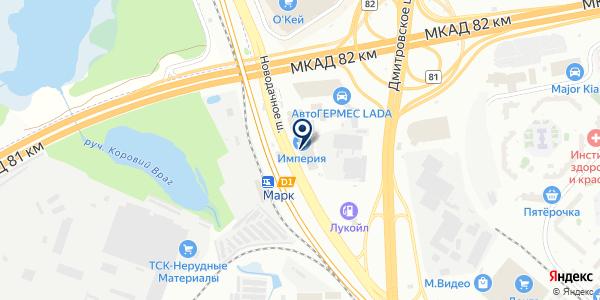 ПромСтройМеталл на карте Москве
