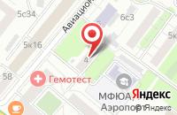 Схема проезда до компании Фирма Туринфо в Москве