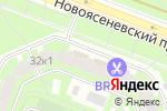 Схема проезда до компании ГлобалТехПлюс в Москве