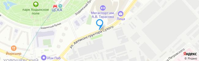 улица Авиаконструктора Сухого