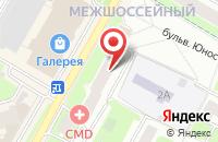 Схема проезда до компании Национальный банк ТРАСТ в Подольске