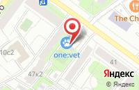 Схема проезда до компании Герон в Москве