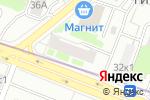 Схема проезда до компании Фиалка в Москве