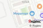Схема проезда до компании Автобан-Моторс в Москве
