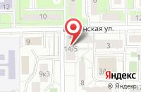 Схема проезда до компании Инициале в Москве