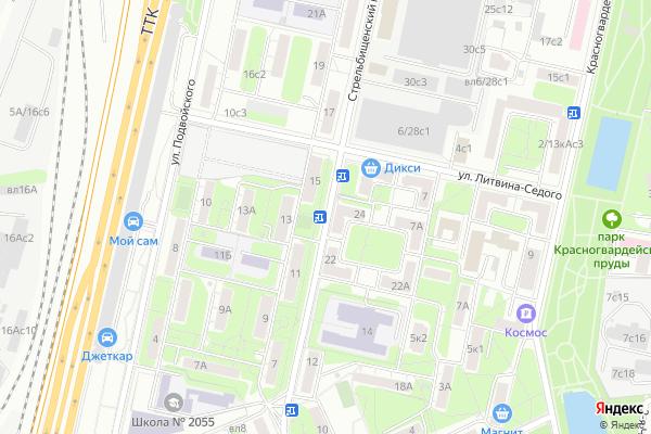 Ремонт телевизоров Стрельбищенский переулок на яндекс карте