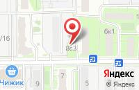 Схема проезда до компании Строй-Град в Москве
