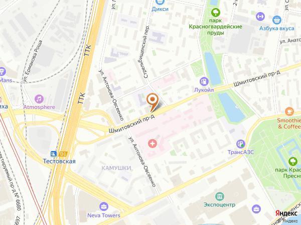 Остановка «Шмитовский пр. - Детская б-ца», Шмитовский проезд (6574) (Москва)