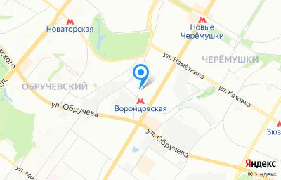 Местоположение на карте пункта техосмотра по адресу г Москва, ш Старокалужское, д 65