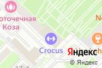 Схема проезда до компании Кварт Плюс в Москве