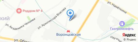 СиБОСС на карте Москвы