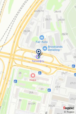 МЕГА-СЕРВИС на карте Звенигорода