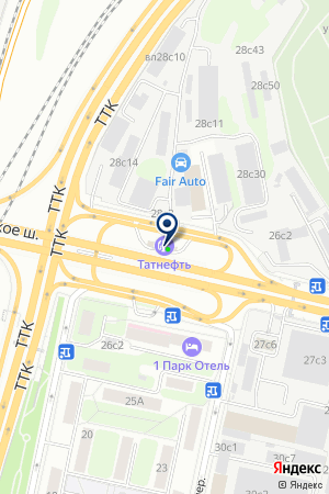 ПТФ ЭКСЛЭВЛ на карте Звенигорода