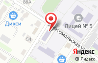 Схема проезда до компании Фигаро в Подольске