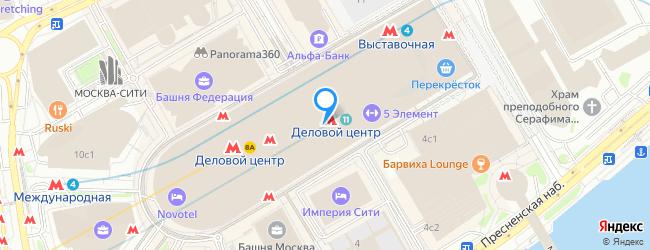 метро Деловой центр