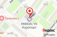 Схема проезда до компании Трейдмаркет в Москве