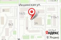 Схема проезда до компании Профбизнес в Москве