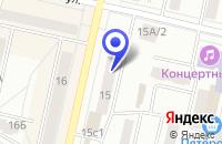 Схема проезда до компании ПТФ СТРАЖ ПЛЮС в Климовске