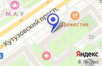 Схема проезда до компании ОДС № 82 в Москве