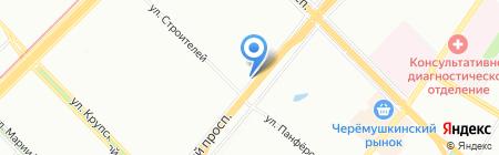 Санрайз на карте Москвы