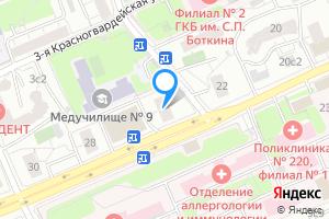 Однокомнатная квартира в Москве м. Деловой центр, Шмитовский проезд, 24