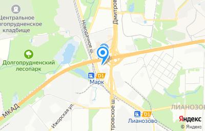 Местоположение на карте пункта техосмотра по адресу г Москва, ш Дмитровское, д 159Г