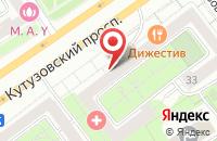 Схема проезда до компании Печатка в Москве