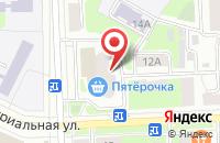Схема проезда до компании OnlineTur в Подольске