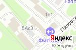 Схема проезда до компании Авто в цвет в Москве