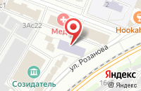 Схема проезда до компании Тп в Москве