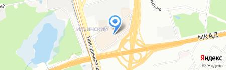 Евросеть на карте Москвы