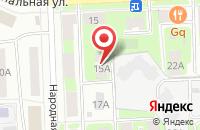 Схема проезда до компании СвязьСтройМонтаж в Подольске