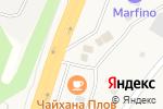 Схема проезда до компании Строительная компания в Ерёмино