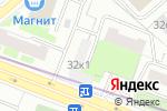 Схема проезда до компании Паритет в Москве