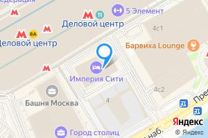 Комната в однокомнатной квартире в Москве Пресненская наб., 6с2