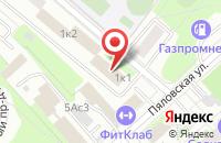 Схема проезда до компании Инженерная Служба Района Западное Дегунино в Москве