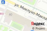 Схема проезда до компании Меркада в Москве