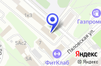 Схема проезда до компании ТФ РЕНТОС в Москве