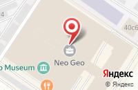 Схема проезда до компании Уралконцерт в Москве