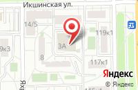 Схема проезда до компании Альфаком в Москве