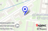 Схема проезда до компании ПТФ ФАРЛИН в Москве