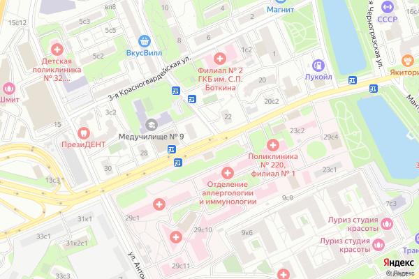 Ремонт телевизоров Шмитовский проезд на яндекс карте