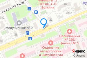 Сдается однокомнатная квартира в Москве м. Деловой центр, Шмитовский проезд