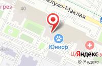 Схема проезда до компании Саткор в Москве