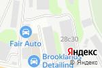 Схема проезда до компании Малярно-кузовной центр в Москве
