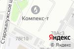 Схема проезда до компании Бизнес помощник в Москве