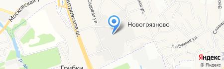 Servicesadmin на карте Грибков