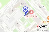 Схема проезда до компании ТФ ДЖЕНТИАВТО в Москве