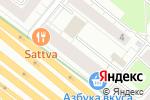 Схема проезда до компании Baon в Москве